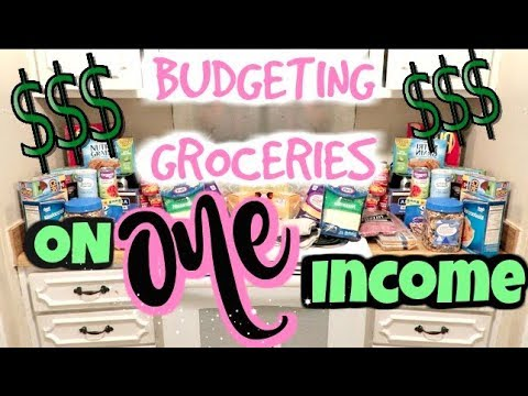 HOW I BUDGET GROCERIES AND MEAL PLAN 1