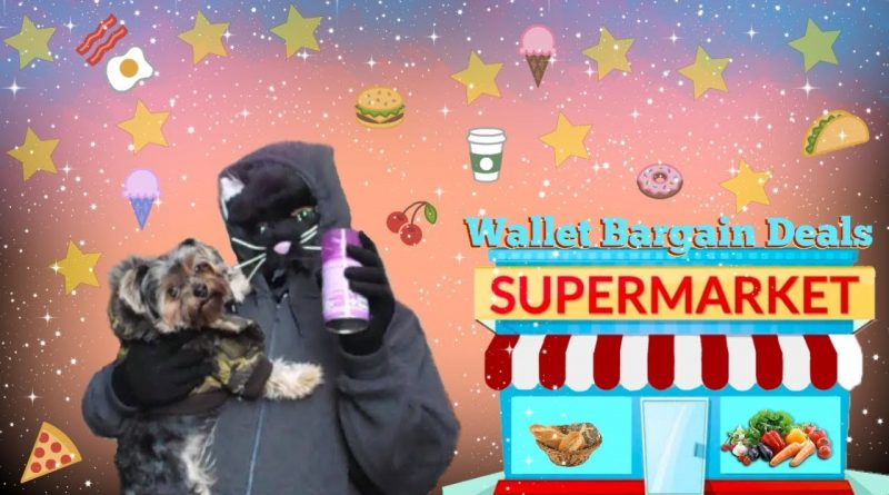Good Baby Silly Puppy Goes Food Shopping To Wallet Bargain Deals Supermarket 1