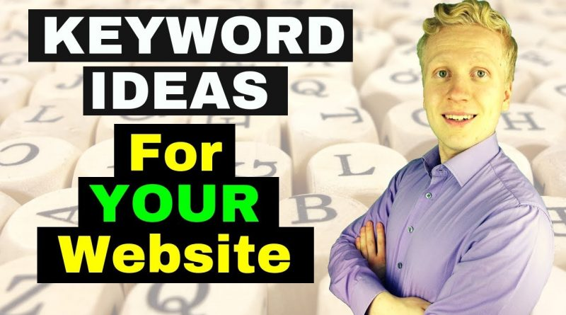 How to Get Keyword Ideas for YOUR Affiliate Marketing Website? [FAST & EASY!] 1
