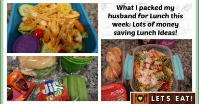 What I packed my Husband for Lunch | Money saving Lunch Ideas! 3