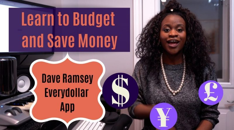 How To Budget and Save Money   Everydollar App 1