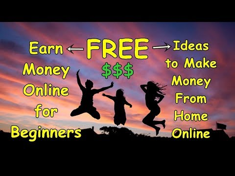 Earn Money Online for Beginners | Ideas to Make Money From Home Online 1