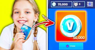 KIDS Who Used MOM'S CREDIT CARD For V-BUCKS On Fortnite! 3