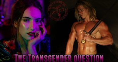 The Golden One on the Transgender Question. 3
