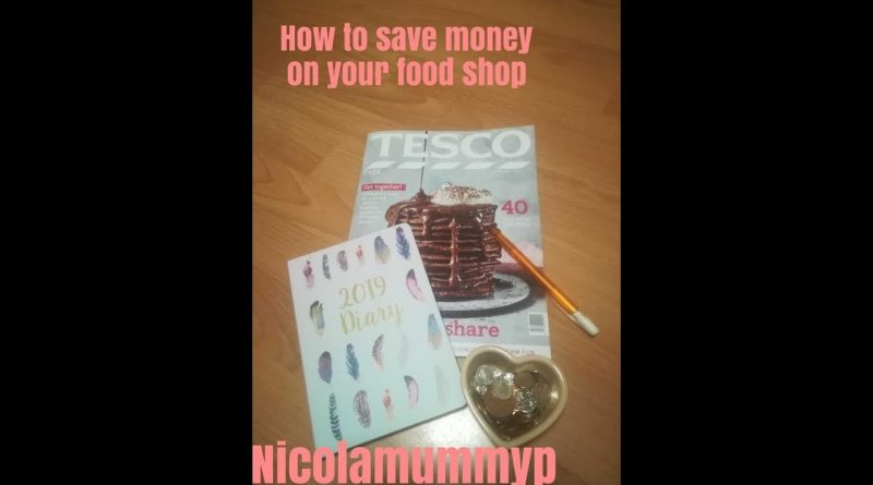 HOW TO SAVE MONEY ON YOUR FOOD SHOP | BUDGET TIPS | NICOLA MUMMYP 1