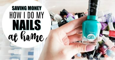Saving Money: What I Use to Do My Nails at Home 2
