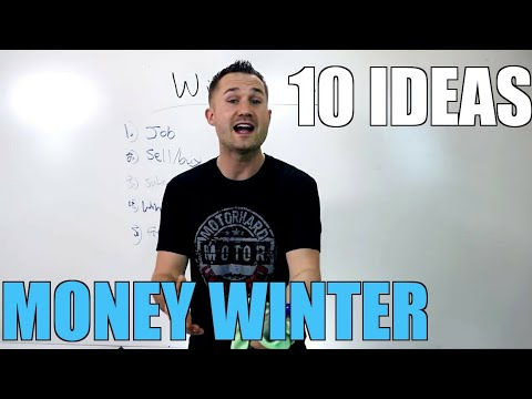 10 Ideas To Make Money In The Winter 1