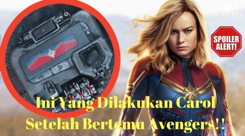 Penjelasan Adegan Mid Credit dan Post Credit Dari Film Captain Marvel 1