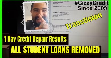 1 Day FAST credit repair results/ how to remove student loans from credit report 2