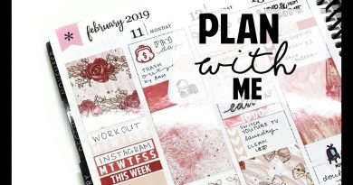 VALENTINES DAY WEEK PLAN WITH ME 4