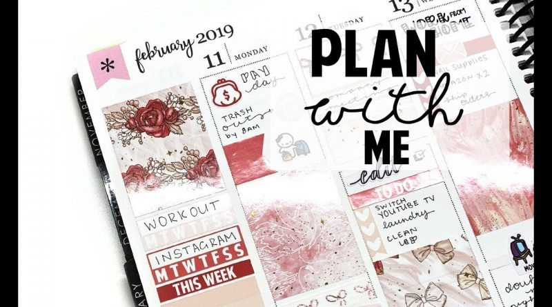 VALENTINES DAY WEEK PLAN WITH ME 1