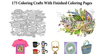 Make Money Coloring Craft Ideas For Finished Coloring Pages Craft Ideas For Coloring Books 3