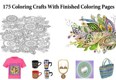 Make Money Coloring Craft Ideas For Finished Coloring Pages Craft Ideas For Coloring Books