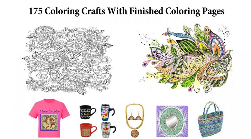 Make Money Coloring Craft Ideas For Finished Coloring Pages Craft Ideas For Coloring Books 1