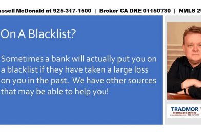 Local mortgage for bad credit score East Bay CA