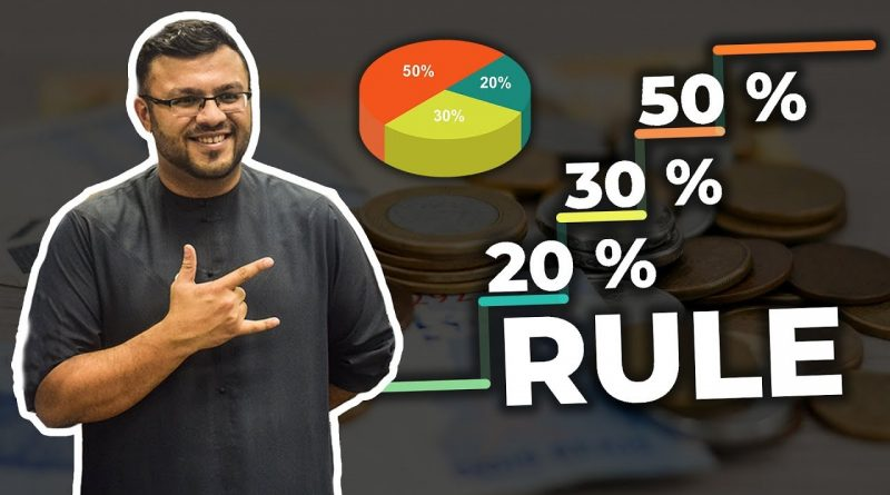 50/30/20 Rule For Personal Finance | How Much Should You Save For Retirement? | Dr. Sanjay Tolani 1