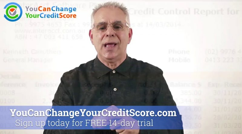 Credit Report vs. Credit Score 1