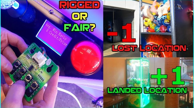 Are Our Claw Machines Rigged? Landing & Losing Locations 1