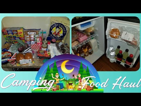Camping Grocery Haul | What we eat when camping 1