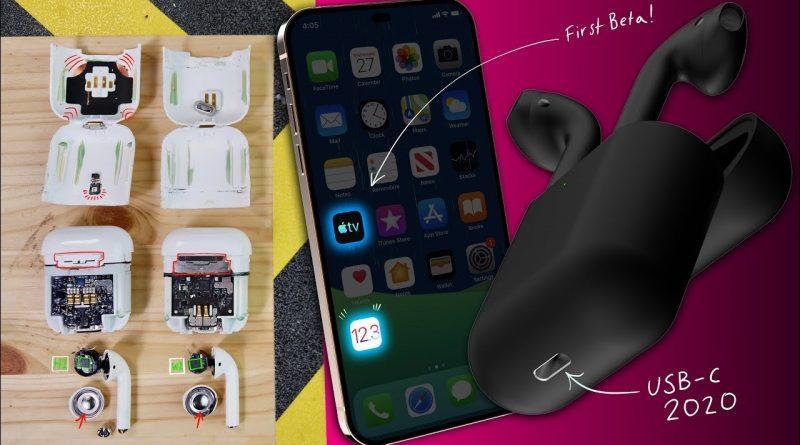 AirPods 2 Water Test & Teardown, iOS 12.3 & USB-C Everything 2020! 1