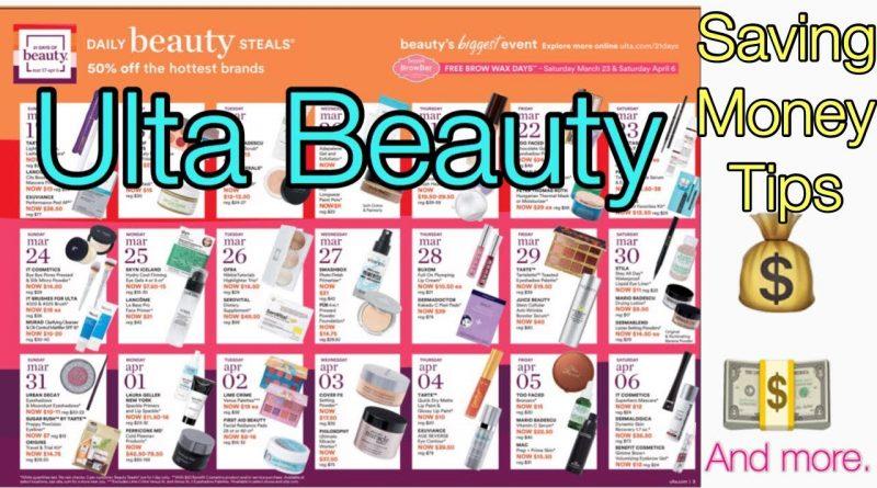 Ulta 21 Days of Beauty Limited Time ( Saving Money Tips 2019 ) 1