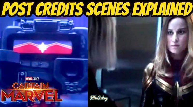 Captain Marvel Post Credit Scenes Explained | Avengers: Endgame Connection 1
