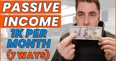 Passive Income Ideas: 7 Ways To Make $1000 A Month (Make Money) 2