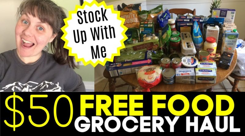$50 FREE FOOD FROM ALDI- Stock Up Weekly Grocery Haul! 1