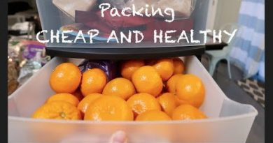 Packing CHEAP AND HEALTHY for our large family road trip! 2