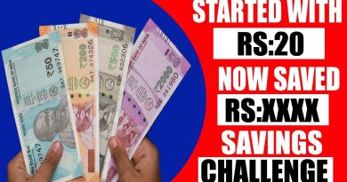 Started From Rs:20 | How To Save Money | Money Saving Tips | 20 Rs Savings Challenge 2