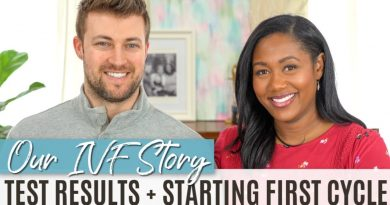 Infertility Testing Results + IVF Treatment Plan   Our IVF Journey #2 2