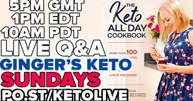 Ginger's Live KETO Q&A with LORNA from ITV's Lose Weight Save Money 2019 #05 4