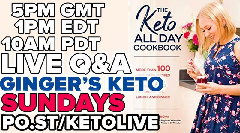 Ginger's Live KETO Q&A with LORNA from ITV's Lose Weight Save Money 2019 #05 1