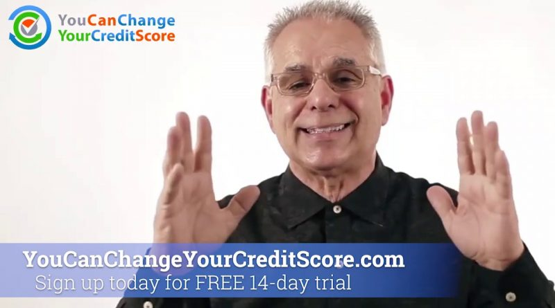 How to Change Your Credit Score 1