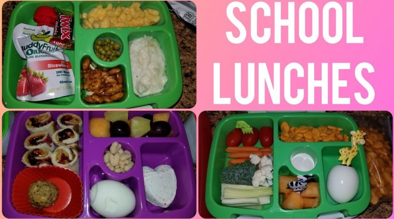 BACK TO SCHOOL LUNCH IDEAS FOR KIDS | BENTGO LUNCHES 1