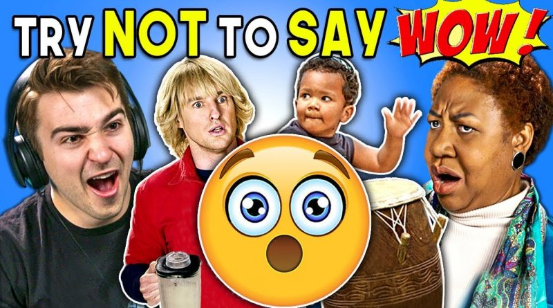 Generations React To Try Not To Say Wow Challenge 1
