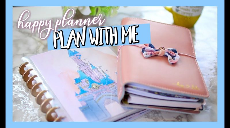 THE HAPPY PLANNER SET UP AND PLAN WITH ME! 1