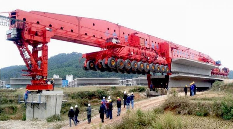 EXTREME Fast Bridge Making Machine - Incredible Modern Bridge Machinery of the World 1