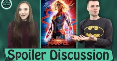 Captain Marvel Spoiler Talk (Ending, Post-Credit Scenes and more) 2
