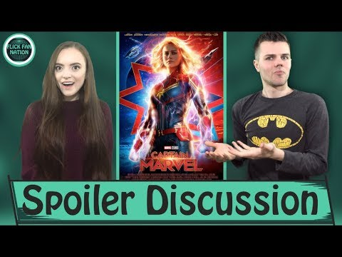 Captain Marvel Spoiler Talk (Ending, Post-Credit Scenes and more) 1