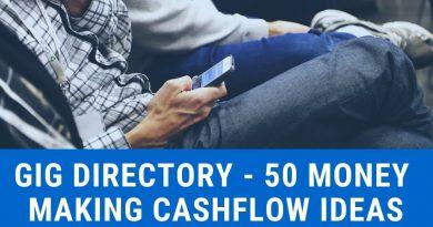 Gig Directory   50 Money Making Cashflow Ideas 4
