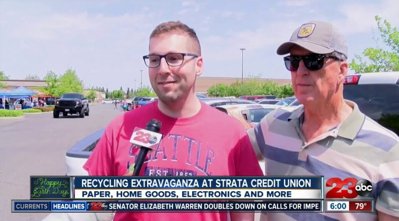 Strata Credit Union hosts recycling extravaganza ahead of Earth Day 1