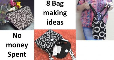8 Bag Making diys ideas | No money spent | Easy bag making tutorials | Learning Process 2