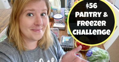 Walmart Grocery Haul & Meal Plan | Week Two Freezer & Pantry Challenge 3