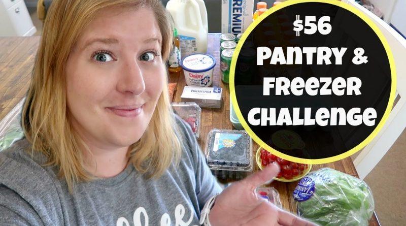 Walmart Grocery Haul & Meal Plan | Week Two Freezer & Pantry Challenge 1