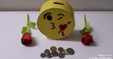 DIY money saver craft idea making at home(Piggy bank)using cardboard and colour paper 3