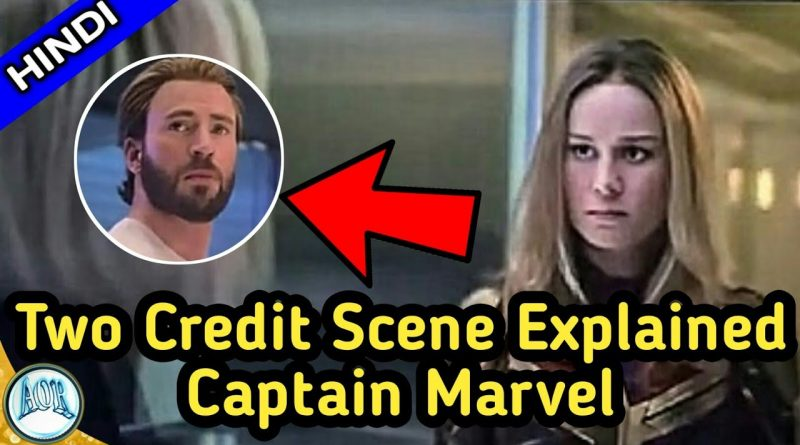 Captain Marvel Post Credit Scenes Explained in Hindi || Changing AOR 1