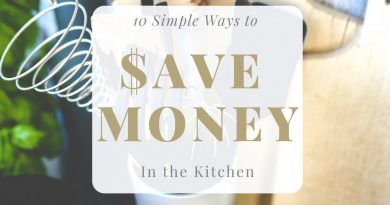 10 SIMPLE WAYS TO SAVE MONEY IN YOUR KITCHEN | MY THRIFTY FRUGAL HOME 4