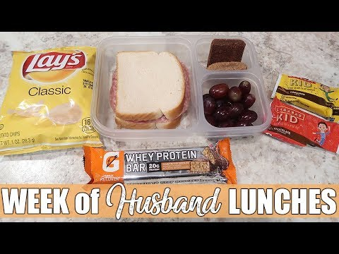 More Cold Lunch Ideas | What I Packed My Husband for Lunch | Money Saving Lunches 1