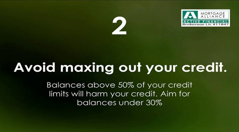 4 Important Tips to Increase Credit Score - Mortgage Alliance Active Financial 1